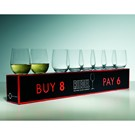 Riedel 'O' Viognier - 8 for 6 Box
